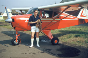 Durban Wings Club Piper Tripacer c 1955. Picture courtesy Michael Traynor.