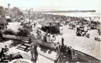South beach about 1949.
