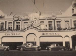 John Orr's store, 1954. Courtesy Nicole White.