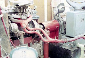 The MA Toyota 7R engine undergoing durability test during Nov 1968.