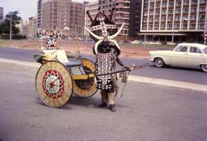 Ricksha Marine Parade Durban