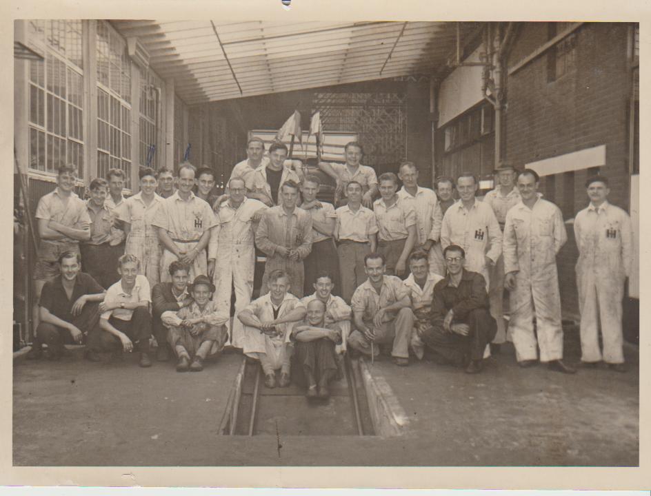 International Harvester Staff circa 1948