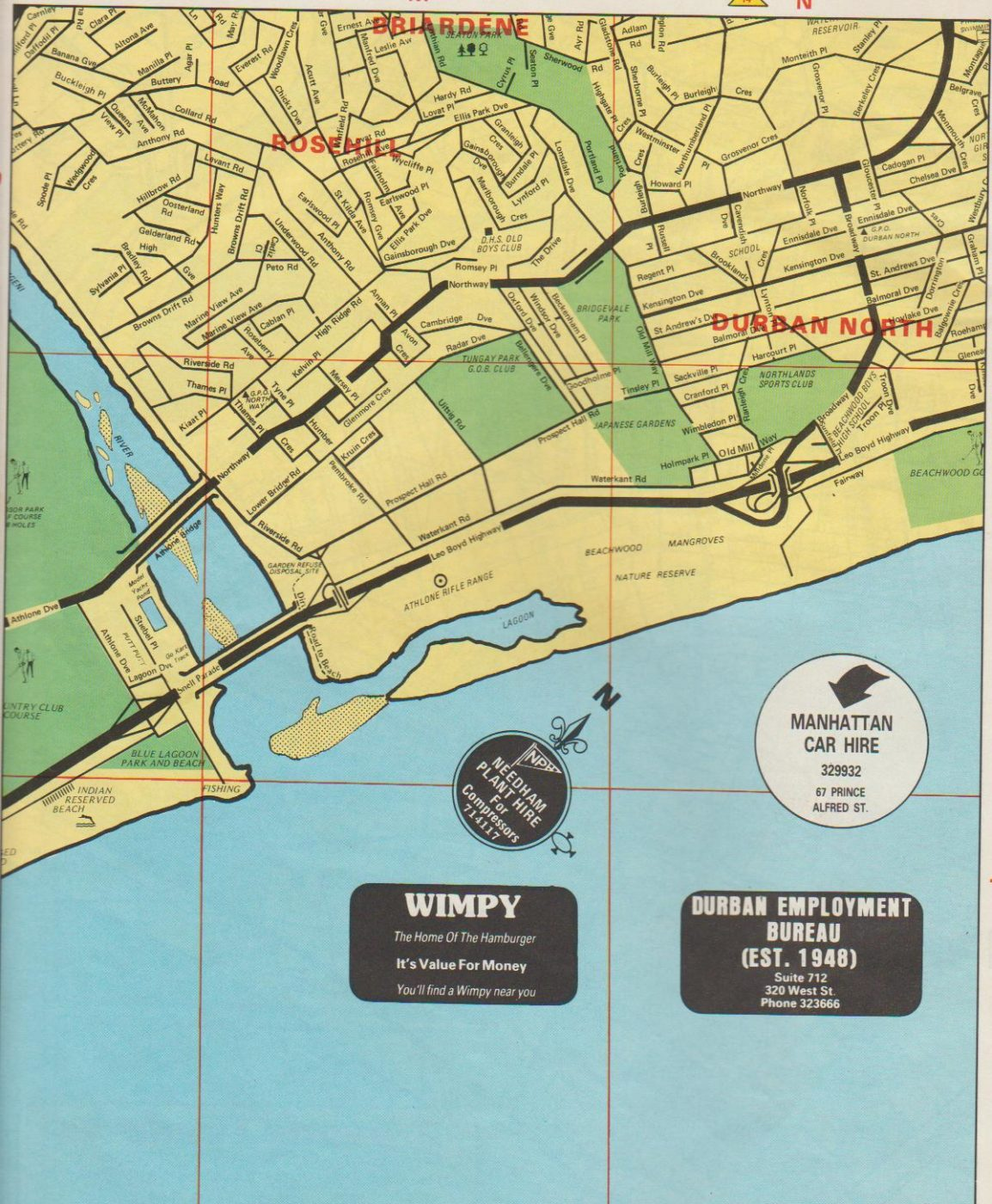 DBN North Map
