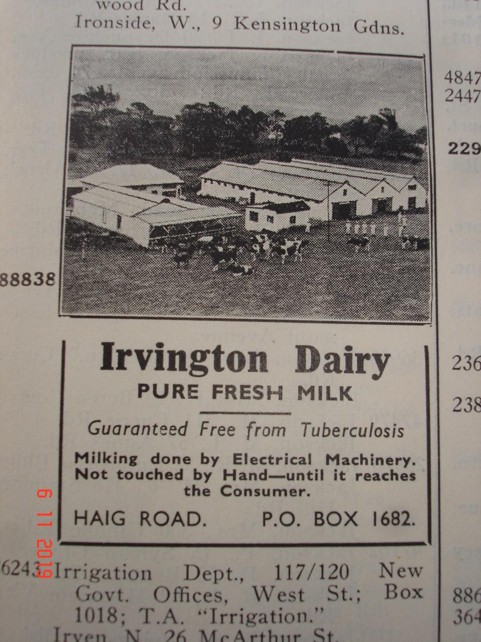 Irvington Dairy