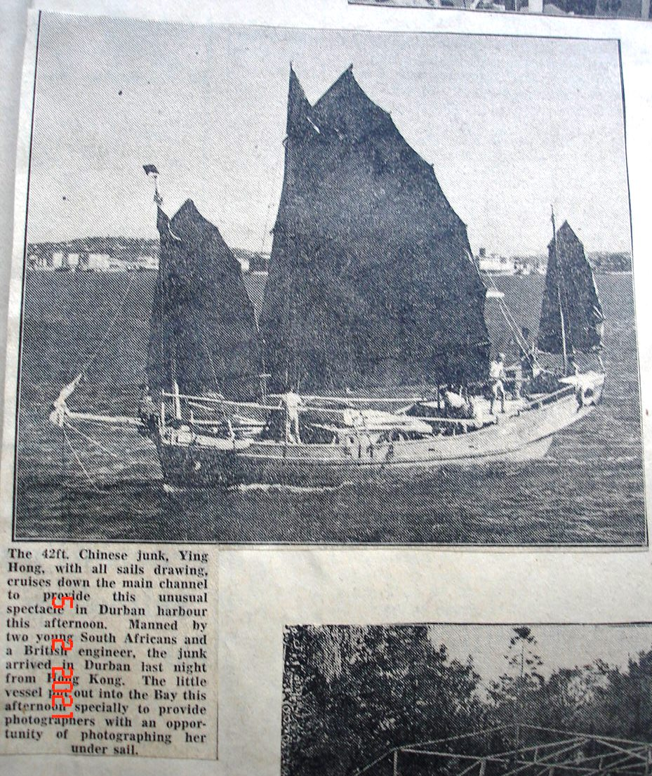 Chinese Junk in Durban